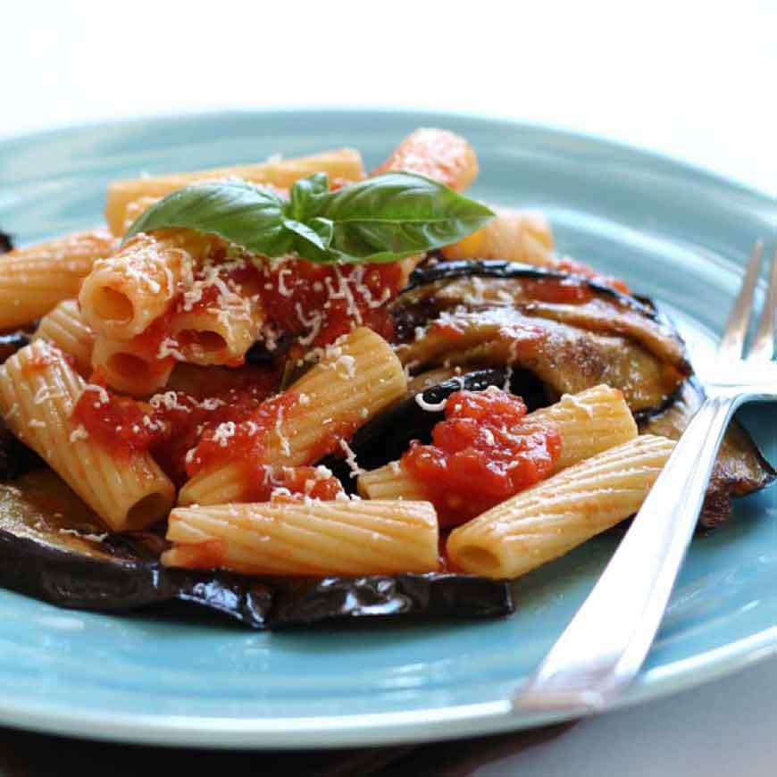 pasta-melanzane-e-mozzarella